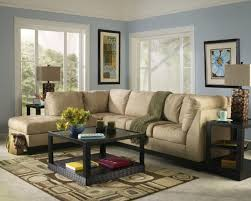 cool pendant lamp lightings rustic blue walls brown furniture