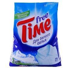 <b>Порошок стиральный</b> автомат для белого белья «<b>Free Time</b>