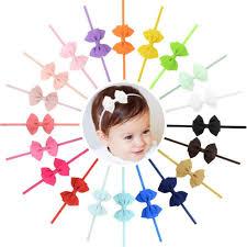 <b>20pcs</b>/<b>lot</b> New Design <b>kids Small</b> Lovely <b>Bow</b> Tie Headband <b>Bow</b> ...