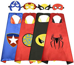 Roko Toys for 3-10 Year Old Boys, Superhero Capes ... - Amazon.com