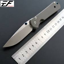 High Quality Sebenza Folding Blade Knife <b>D2 Steel Titanium</b> ...