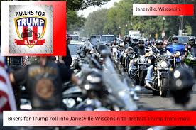breaking bikers for trump riding into wisconsin to stop anti breaking bikers for trump riding into wisconsin to stop anti trump protests in janesville