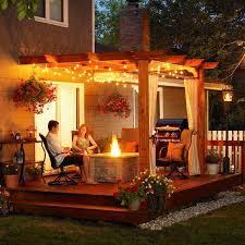 patio outdoor string lights woohome 16 backyard string lighting ideas