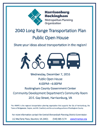 12 7 long range transportation plan public open house 12 7 long range transportation plan public open house shenandoah valley bicycle coalition