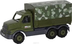 <b>Полесье</b> Грузовик военный <b>бортовой</b> тентовый <b>Сталкер</b>, цвет в ...