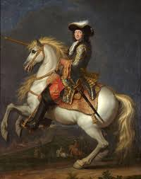 at versailles a darkly comic celebration of louis xiv s death reneacute antoine houasse equestrian portrait of louis xiv ca 1675