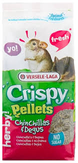 <b>Корм</b> для шиншилл и дегу <b>Versele</b>-<b>Laga Crispy</b> Pellets Chinchillas ...