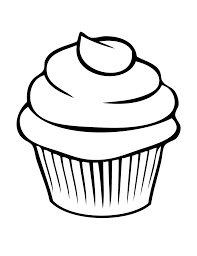 Small Picture Pretty Cupcake Coloring Page Free Printable Coloring Pages