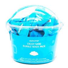 Регулярная <b>маска для лица</b> AYOUME <b>Enjoy</b> Mini Bubble Mask ...