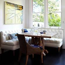 button tufted banquette for dining eclectic mix better homes gardens banquette dining room furniture