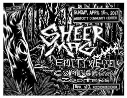 sheer mag empty vessels coming down zooters at westcott cc  sheer mag empty vessels coming down zooters at westcott cc 4 16 17 syracuse new times