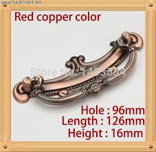 10pcs length 126mm hole cc96mm zinc alloy kitchen furniture handle antique bedroom bedroom furniture drawer handles