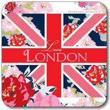 Union <b>Jack Love London</b> Coaster(Pack of 10) – Customworks