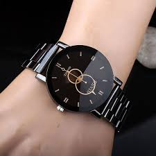 KEVIN <b>New</b> Design <b>Women Watches Fashion</b> Black Round Dial ...