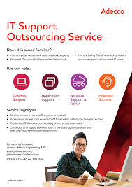 adecco thailand it support outsourcing service brochure