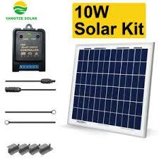 <b>10w Solar Panel Kit</b>