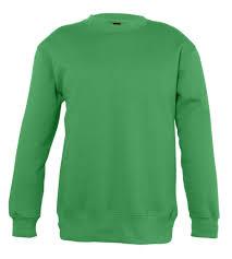 <b>Свитшот детский New supreme</b> kids 280 ярко-зеленый, на рост ...