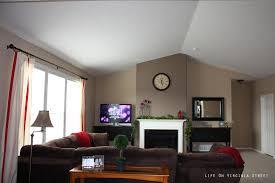 modern living room painting