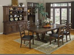 Dining Rooms Tables And Chairs Elegant Rustic Dining Room Set With Brilliant Dining Room Table