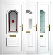 Stylish PVC doors can supply you with home security and decoration