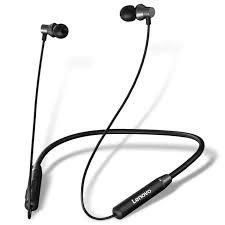 Lenovo <b>HE05 Bluetooth</b> 5.0 Magnetic Neckband <b>Earphones</b> Sport ...