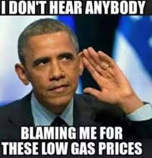 Image result for obama gas
