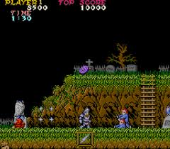 GHOSTS'N GOBBLINS
