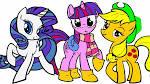 Игры раскраски пони 2