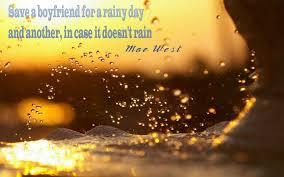Bilderesultat for rainy days quotes