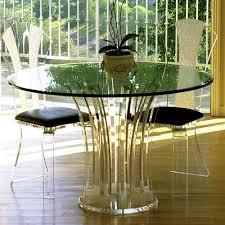 carousel acrylic dinette table modern furniture hstudio acrilic furniture