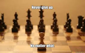 Never give up memes | quickmeme via Relatably.com