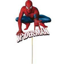 <b>Spiderman</b> Party Cake Toppers Cake Supplies for sale | eBay