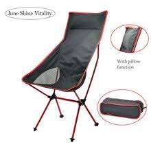 Outdoor Portable Ultralight <b>Camping Chair</b> Leisure Compact Folding ...