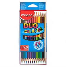 """""""<b>Maped</b>"""" <b>Карандаши цветные COLOR</b> PEPS двусторонние 24 цв ..."""