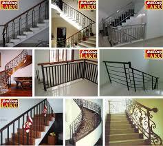 railing tangga minimalis modern: 70 model dan desain railing tangga minimalis terbaik 0812 1932 6162