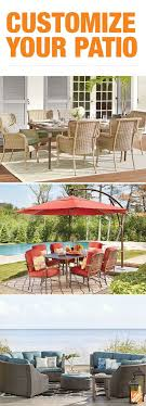 working creating patio: create your own patio collection to fit the size of your outdoor space and the way