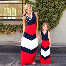 2019 Mommy and me <b>family matching mother daughter</b> dresses ...