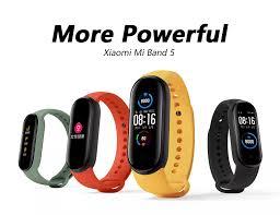 Original Xiaomi Band 5 <b>Smart Bracelet</b> 5.0 Sports Fitness Tracker ...