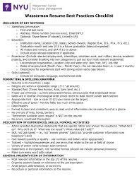 your resume checklist wetfeet co your resume checklist wetfeet