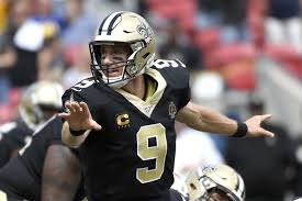 Drew Brees leaves Saints game with hand injury