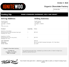 woocommerce pdf invoices packing slips woocommerce pdf packing slip sample