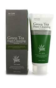 3W Clinic Pure Natural Green Tea Foam Cleansing ... - Amazon.com