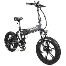SAMEBIKE XWXL09 Fat Tire with 500W 10AH 48v Smart Folding E ...