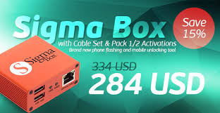 15 discount on sigma box with cable set sigma pack 1 2 activations box home de sfr pack