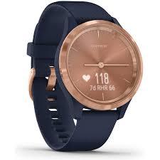 <b>Garmin Vivomove 3S</b> Hybrid Smart Watch (Rose Gold/Navy) | JB Hi-Fi
