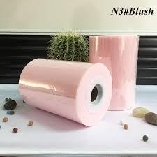 6 inch colorful soft nylon tulle fabric rolls for festival decoration plastic fabricator