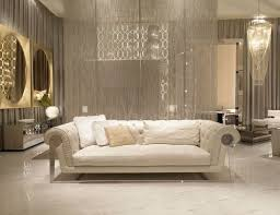 luxury home interior design beautiful italian sofas plus cushions featuring awesome chandelier and white tile floor and khaki color wall together with awesome italian sofas