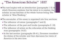 emerson american scholar essay   writinggroupwebfccom emerson american scholar essay