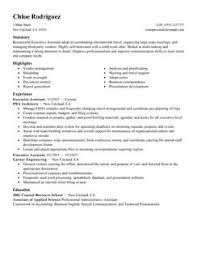 executive assistant resume example medical assistant resume samples