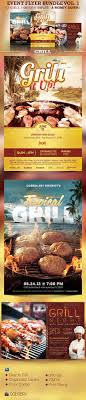 1000 ideas about event flyer templates event barbeque grilling event flyer template bundle